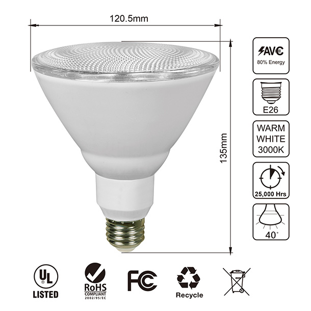 Par38 Led Light Bulb Jullison Led Llc